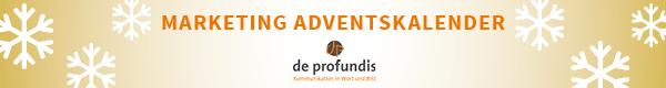 Marketing Adventskalender Hauptseite