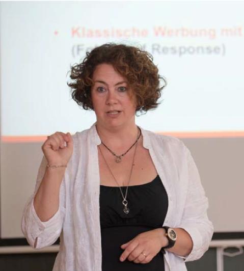 Marketing Dozentin Sabine Andreadis